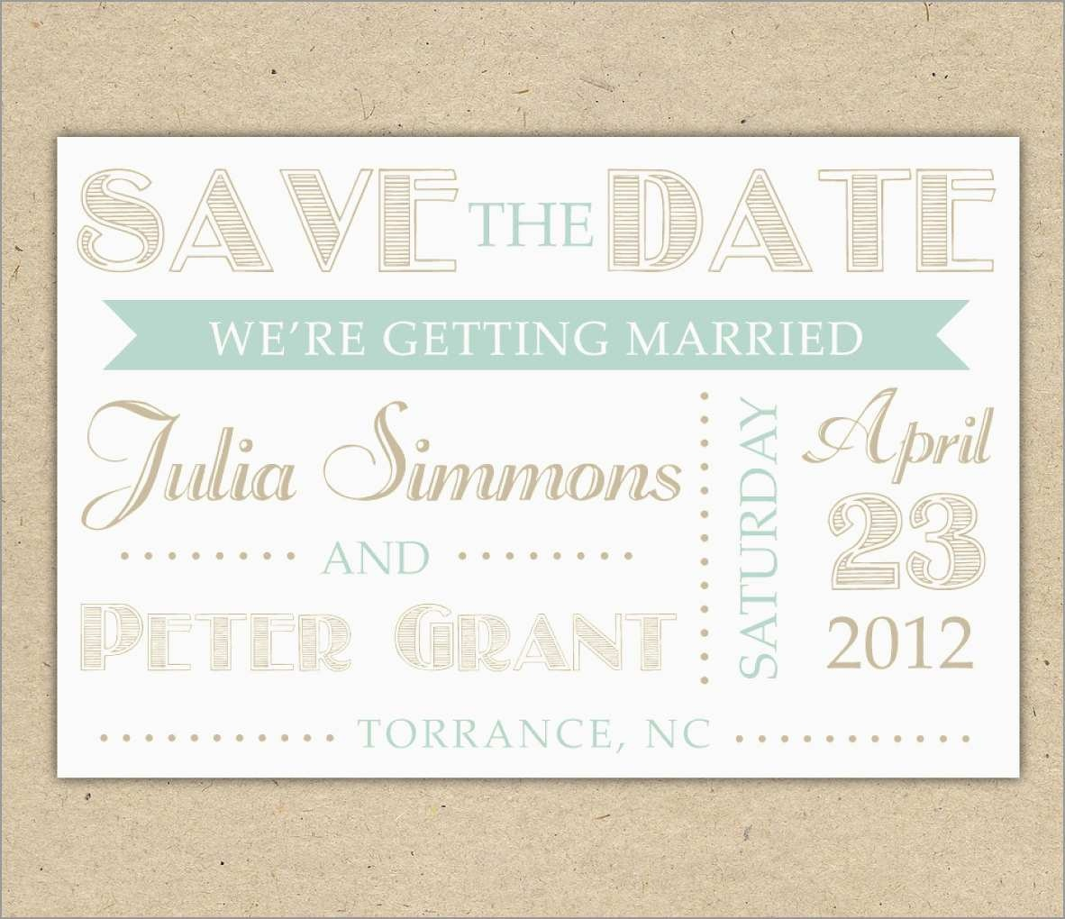 New Free Printable Save The Date Invitation Templates | Best Of Template - Free Printable Save The Date Invitation Templates