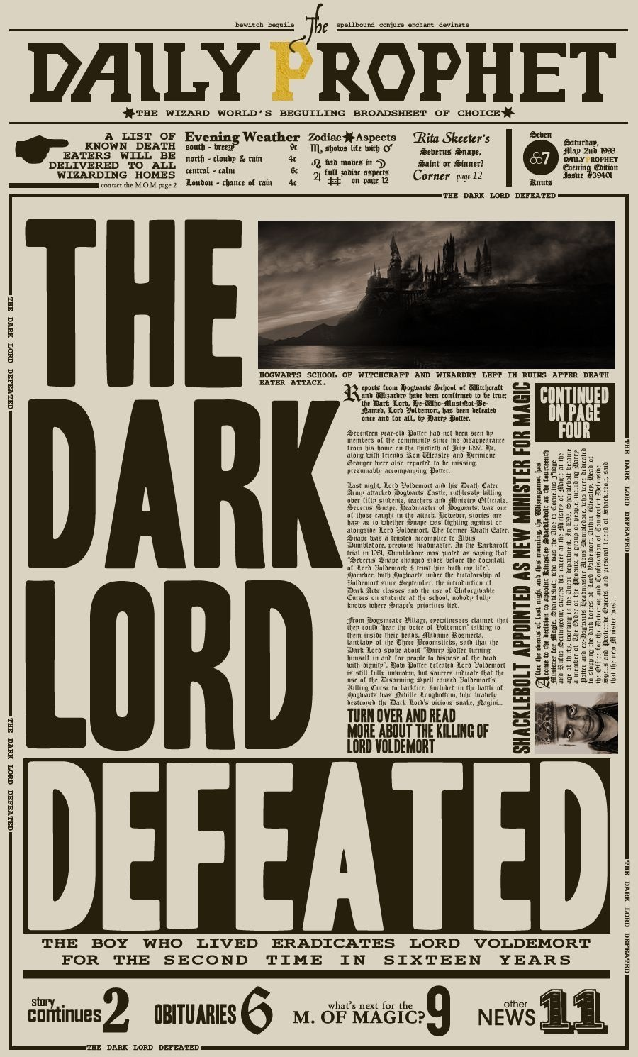 New Paper Poster Printable Harry Potter | Harry Potter Printable - Free Printable Harry Potter Posters