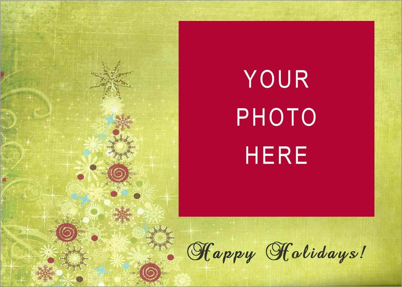 New Photo Card Template Free | Best Of Template - Free Printable Christmas Cards With Photo Insert