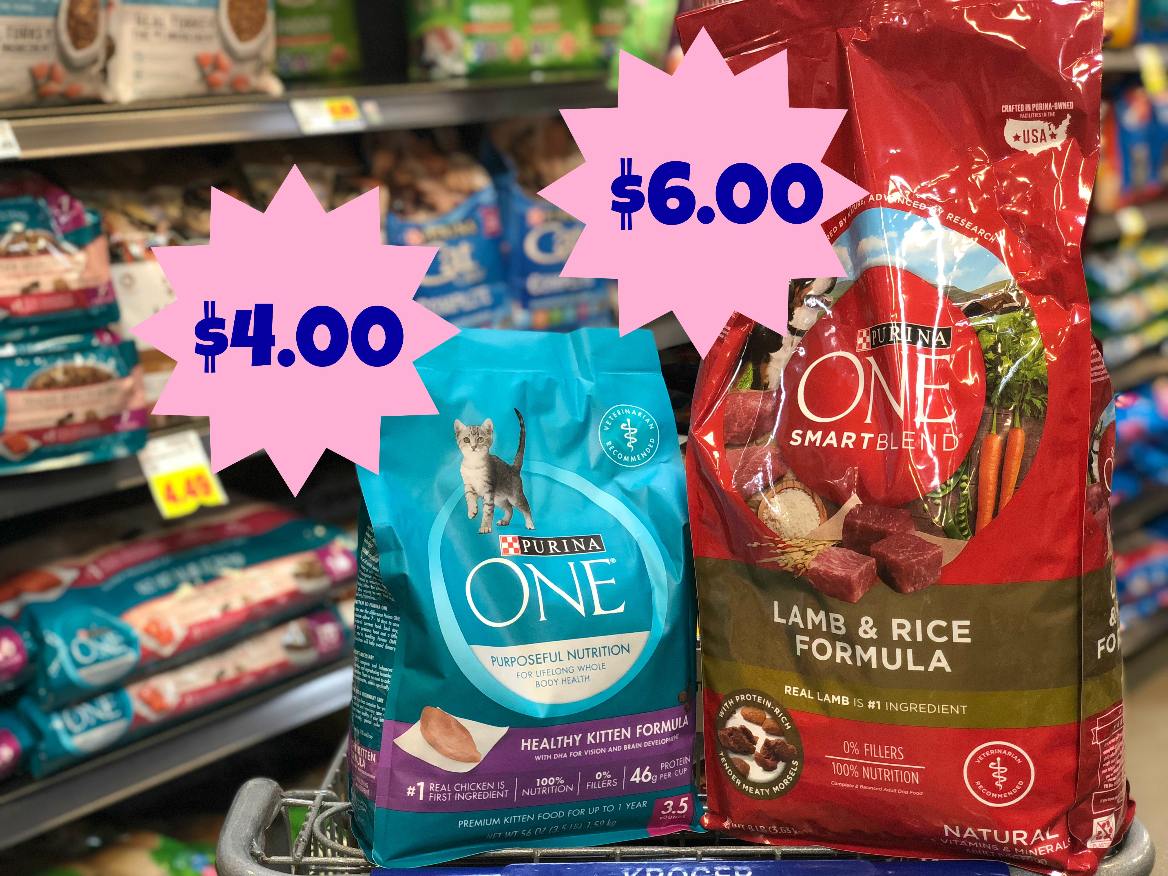 New Purina One Coupons   Dry Cat Food = $4.00 And Dry Dog Food - Free Printable Coupons For Purina One Dog Food