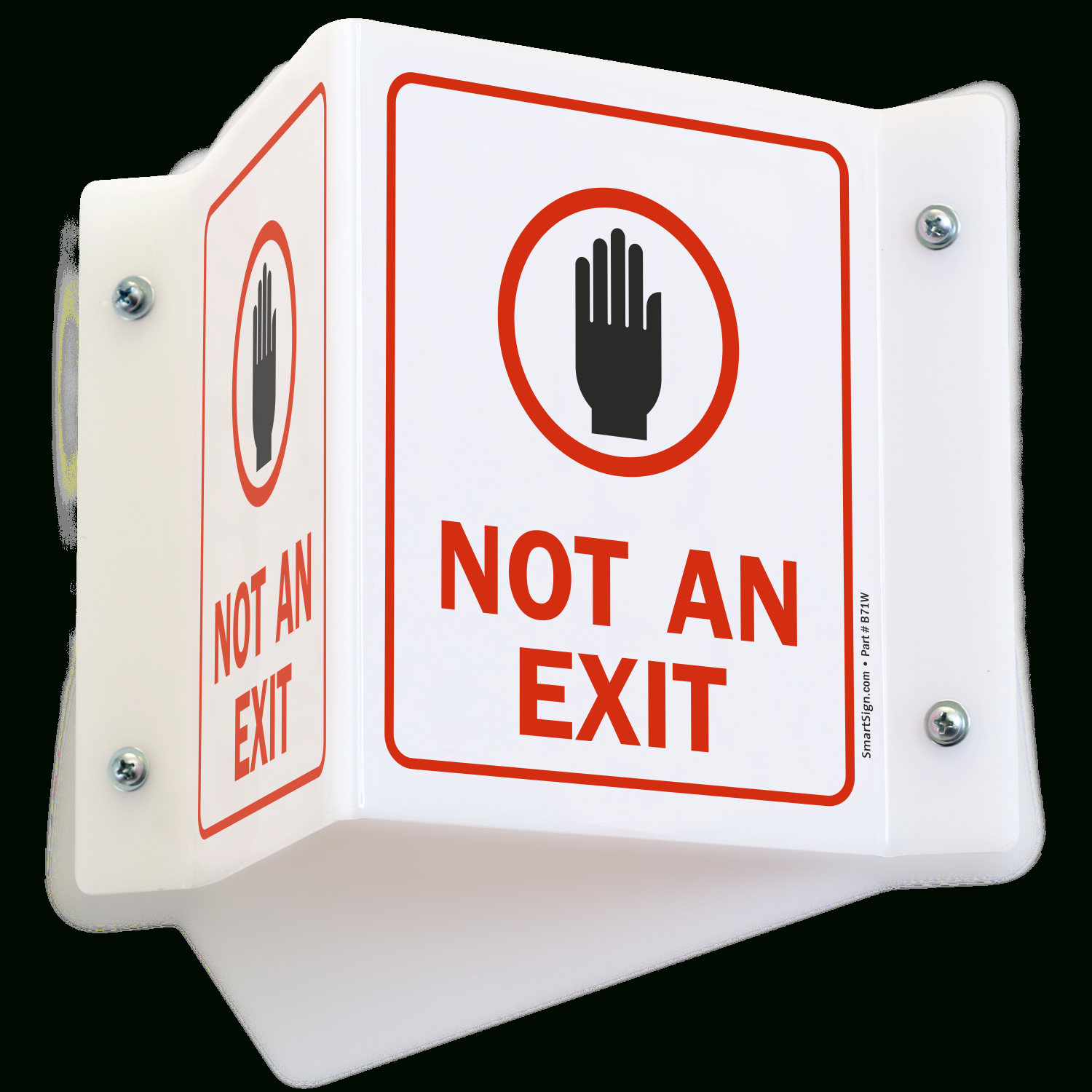 Not An Exit Signs - Free Printable Not An Exit Sign