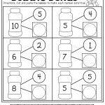 Number Bubble Bonds (Cut And Paste) | Kindergarten Activities | Math   Free Printable Number Bonds Worksheets For Kindergarten