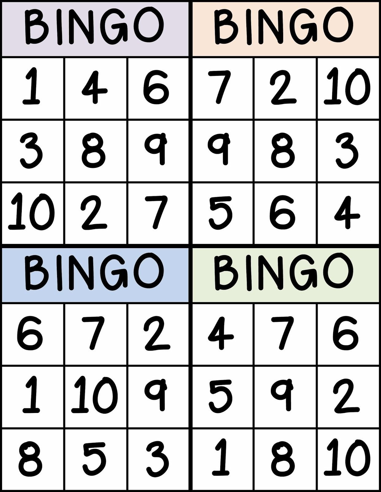 Numbers   Sarah   Numbers Preschool, Preschool Math, Teaching Numbers - Free Printable Number Bingo Cards 1 20