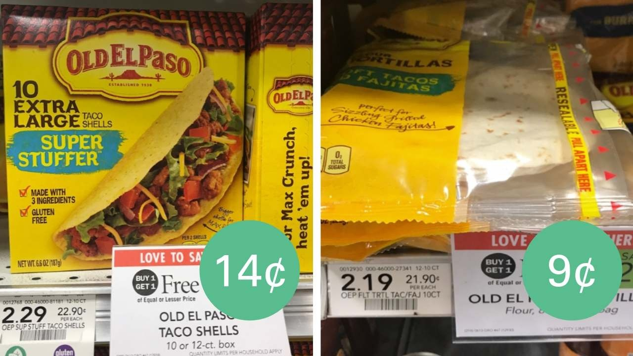 Old El Paso Tortillas Or Taco Shells Starting At 9¢! :: Southern Savers - Free Printable Old El Paso Coupons
