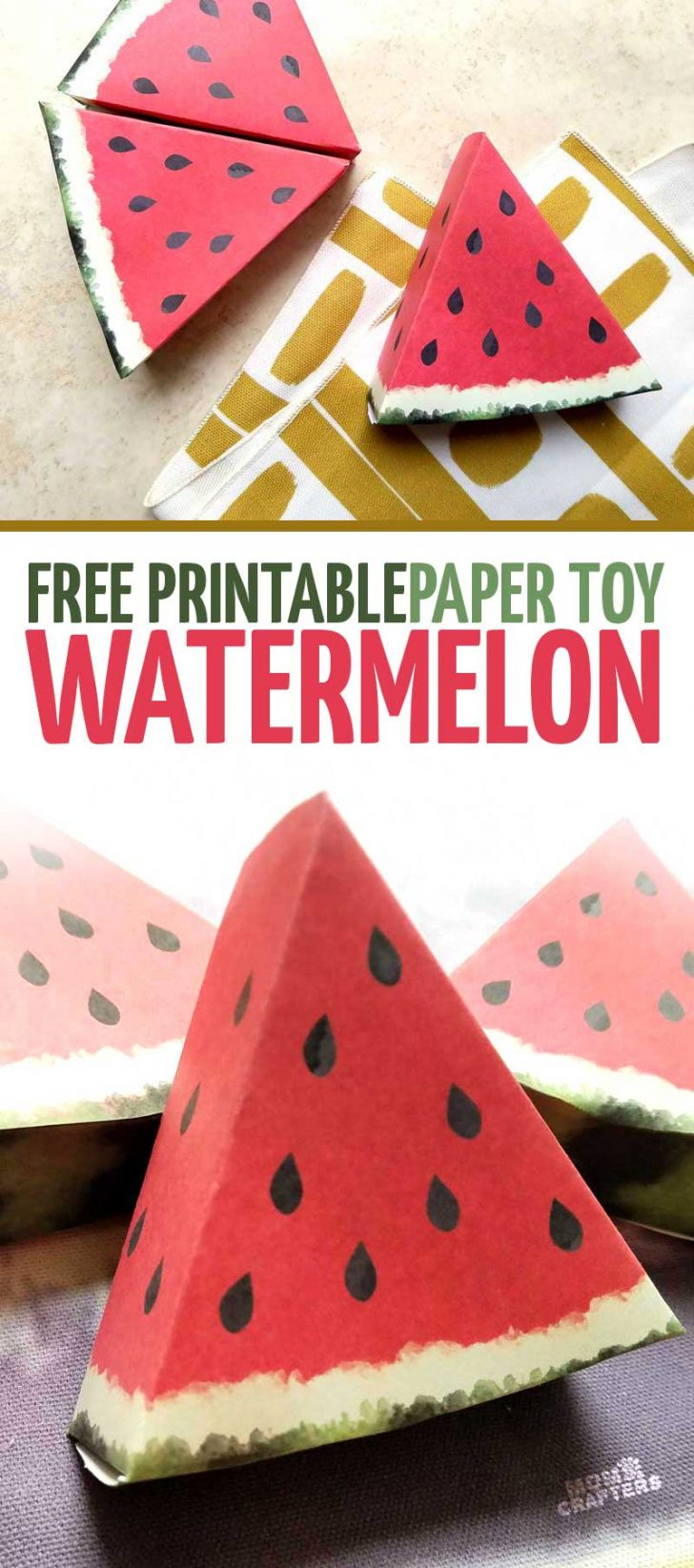 Free Printable Paper Crafts