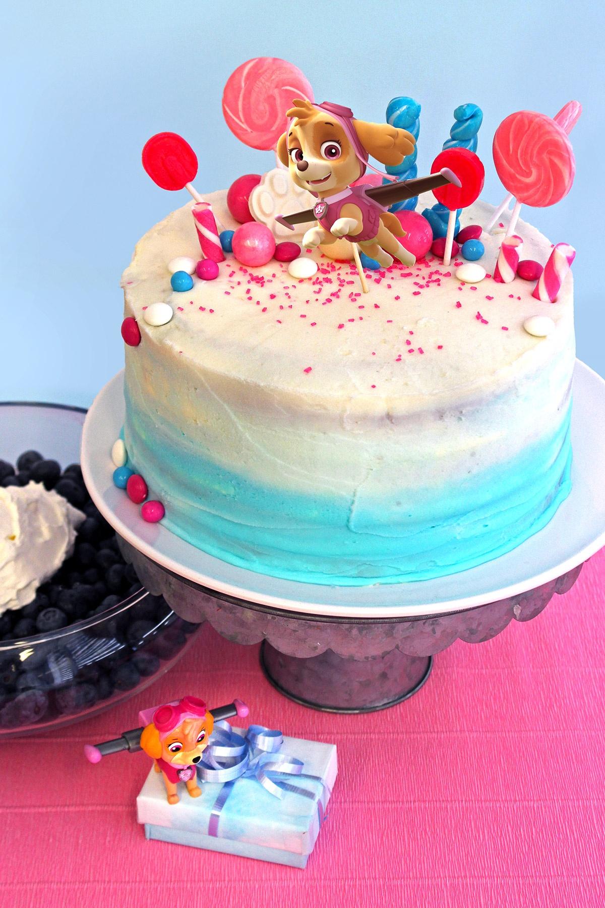 Paw Patrol Skye Birthday Cake Topper | Nickelodeon Parents - Free Printable Happy Birthday Cake Topper