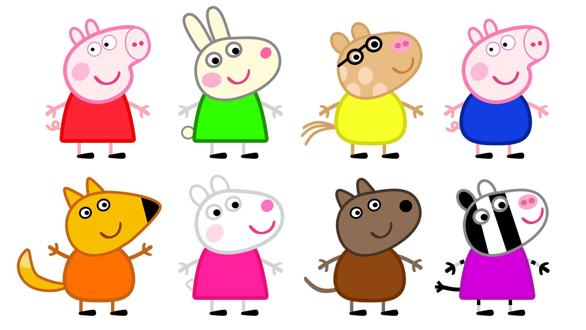 Peppa Pig Clipart | Free Download Best Peppa Pig Clipart On - Peppa Pig Character Free Printable Images