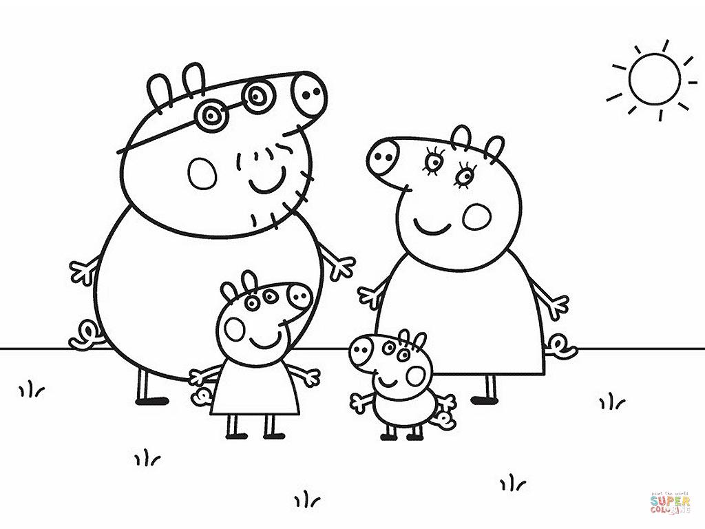 Peppa Pig Character Free Printable Images | Free Printable