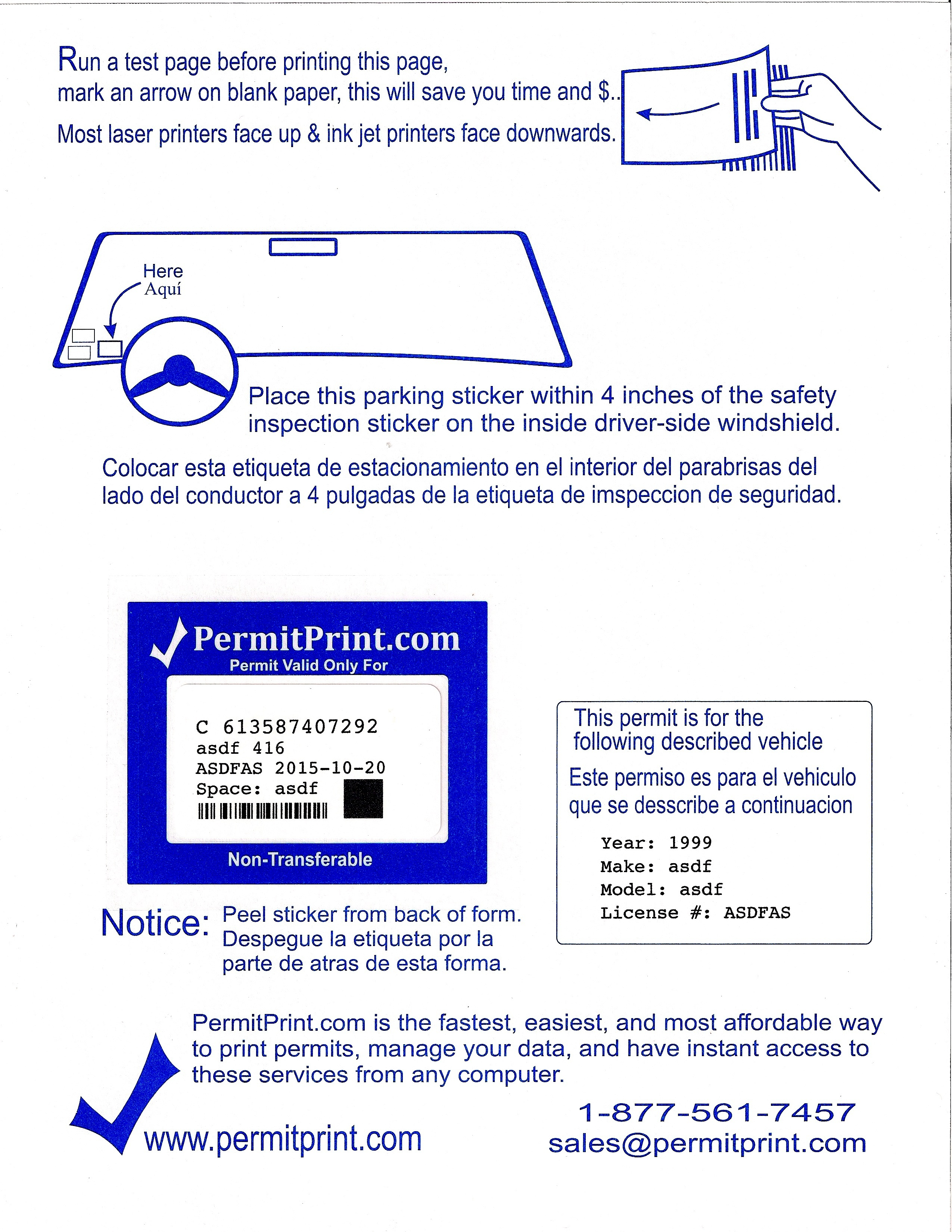 Permitprint | Parking Permits Made Easy - Free Printable Parking Permits