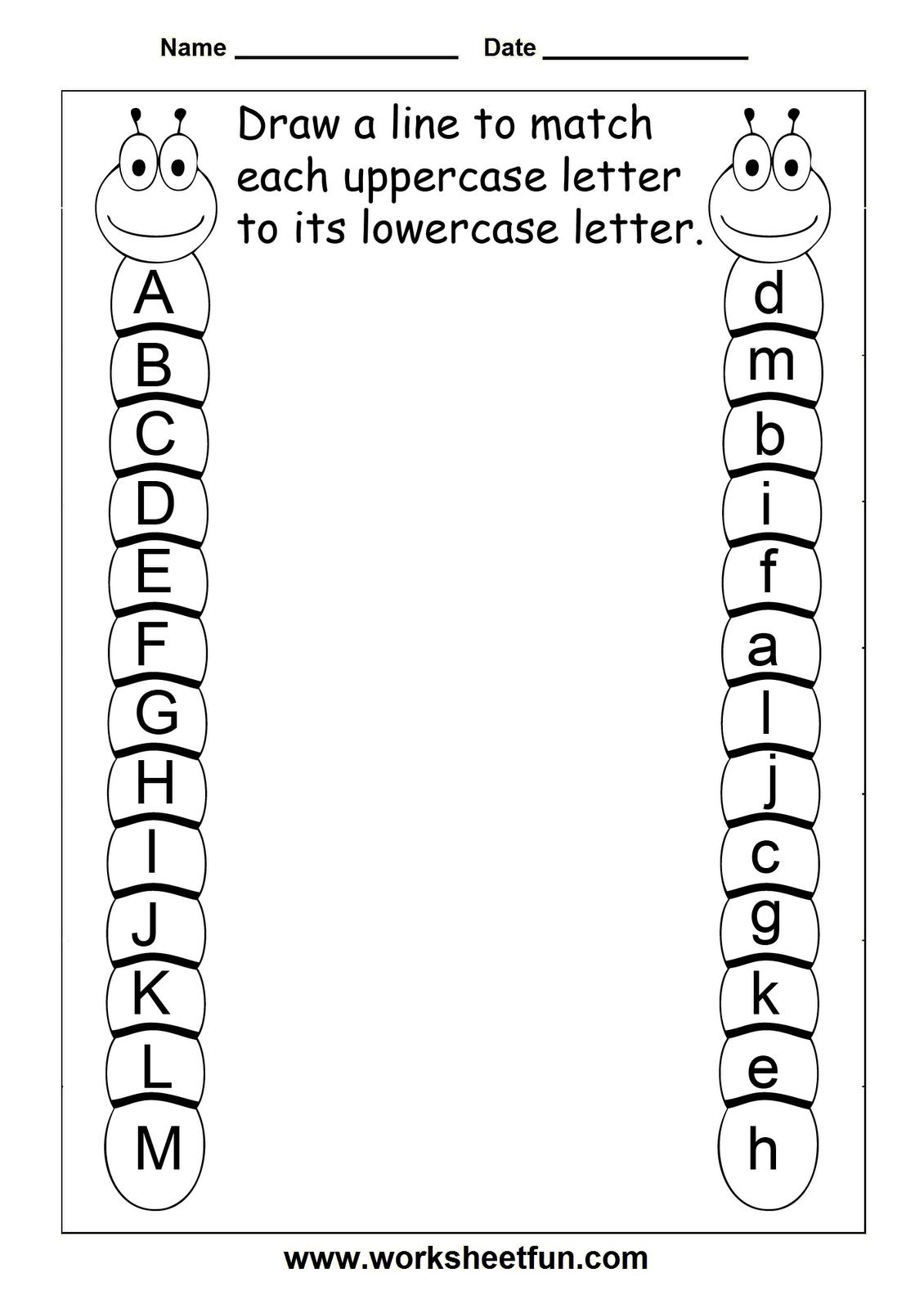 Pinashley Hibbs On Kiddo | Preschool Worksheets, Kindergarten - Free Printable Alphabet Worksheets For Grade 1