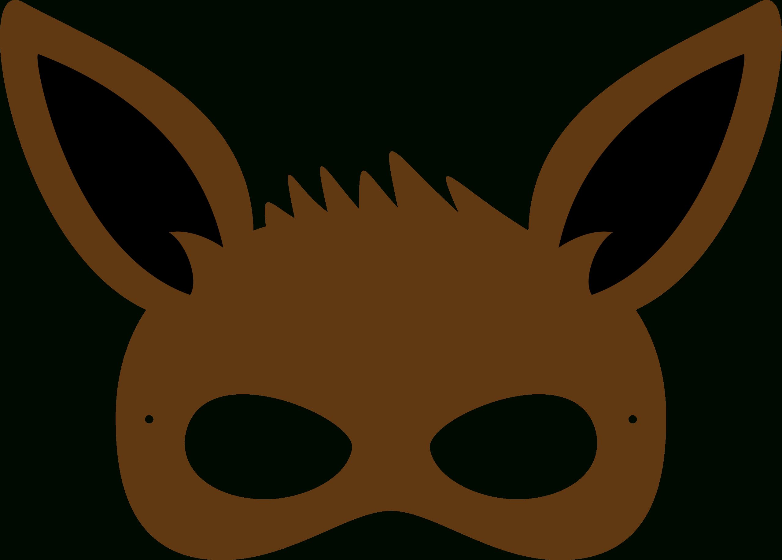 Pincrafty Annabelle On Pokemon Printables | Pokemon Birthday - Free Printable Pokemon Masks