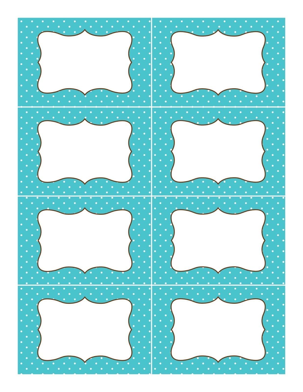 Pincrystal Long On Sweet Bar Buffet   Printable Labels, Candy - Free Editable Printable Labels