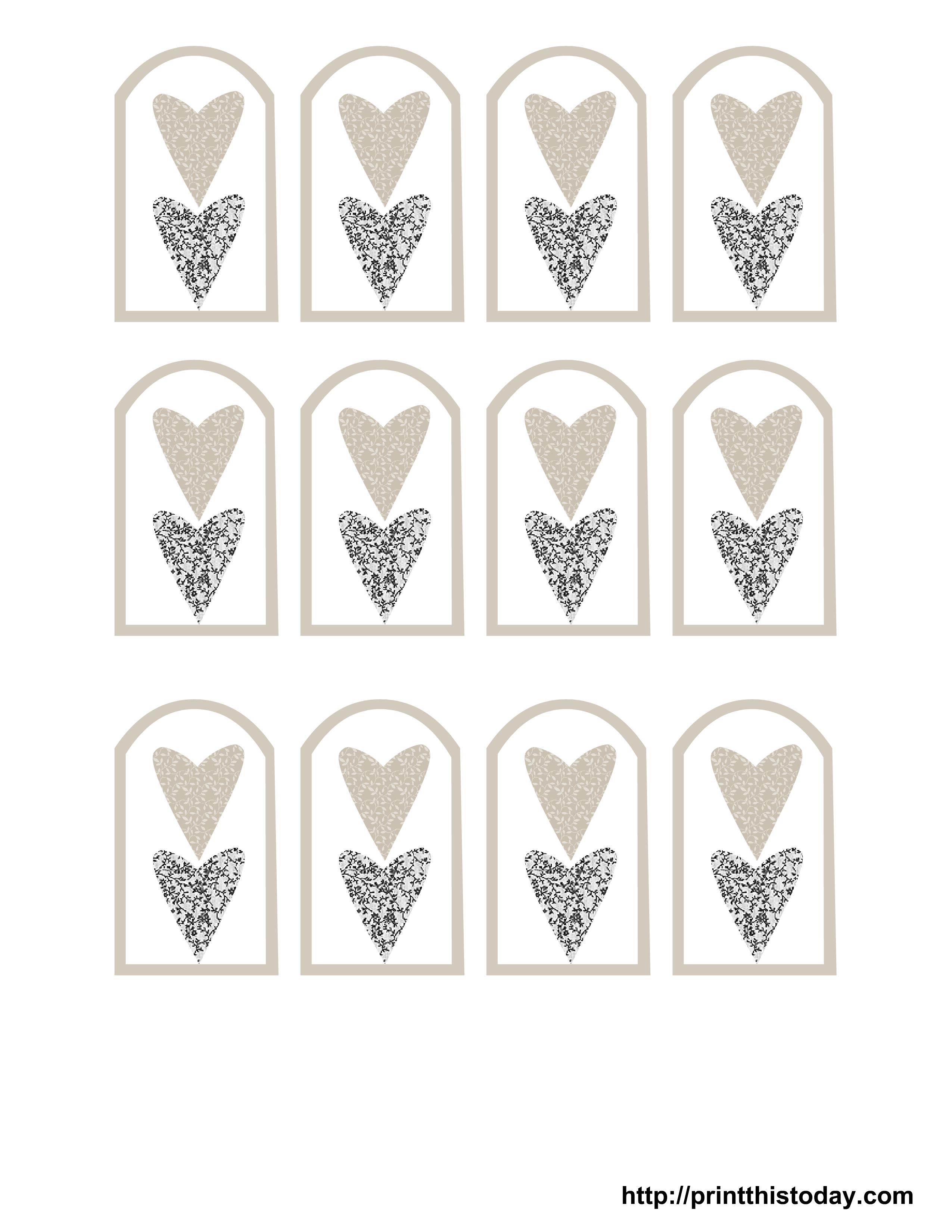 Pindoreen Gunderson On Printables   Wedding Favor Tags, Wedding - Free Printable Wedding Thank You Tags