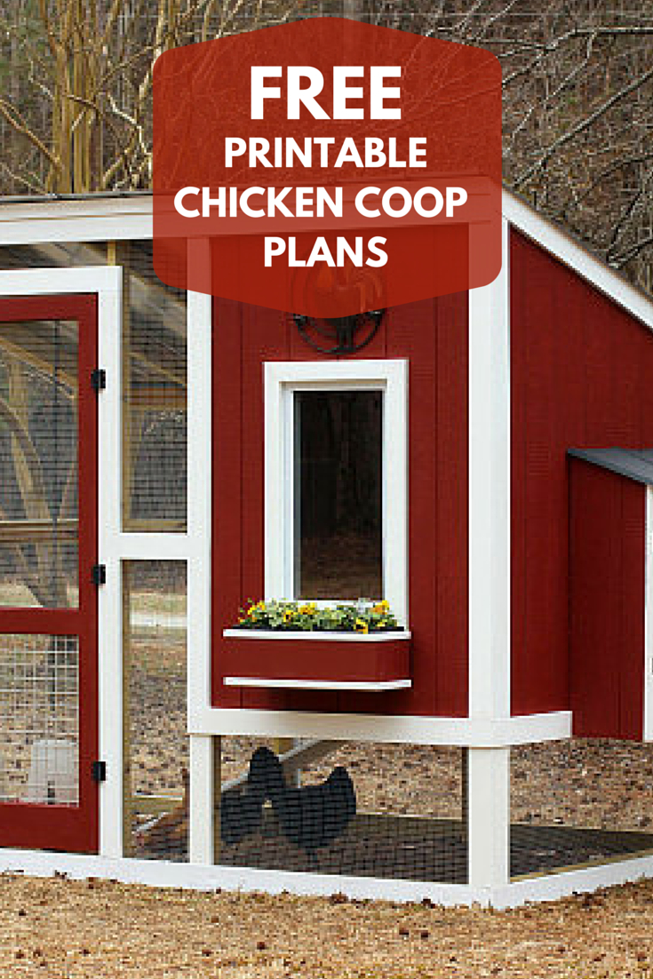 Pinhgtv On Outdoor Living Ideas | Backyard Chicken Coops - Free Printable Chicken Coop Plans