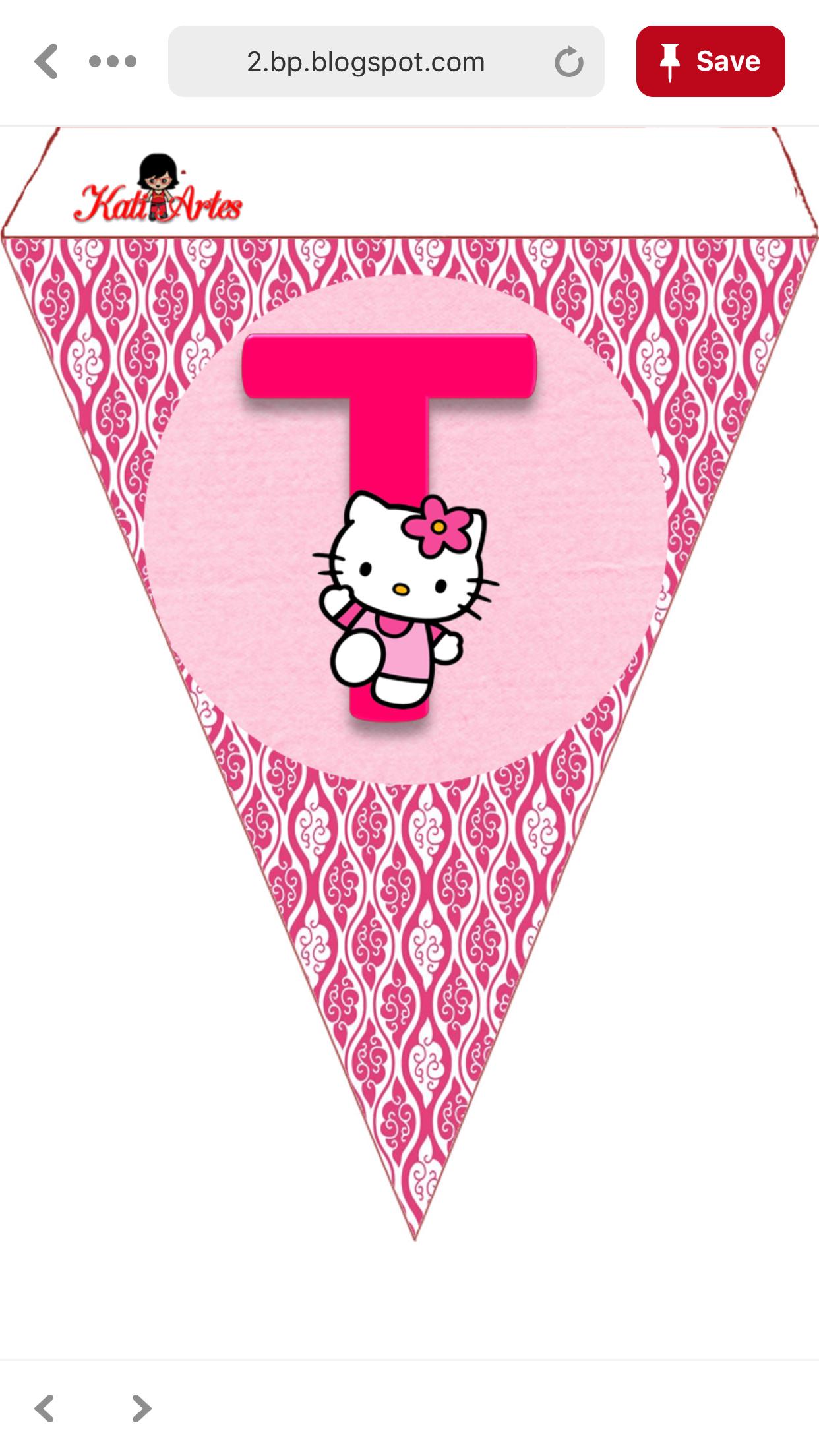 Pinjas P On Hello Kitty Decor | Hello Kitty, Kitty, Cards - Free Printable Hello Kitty Alphabet Letters