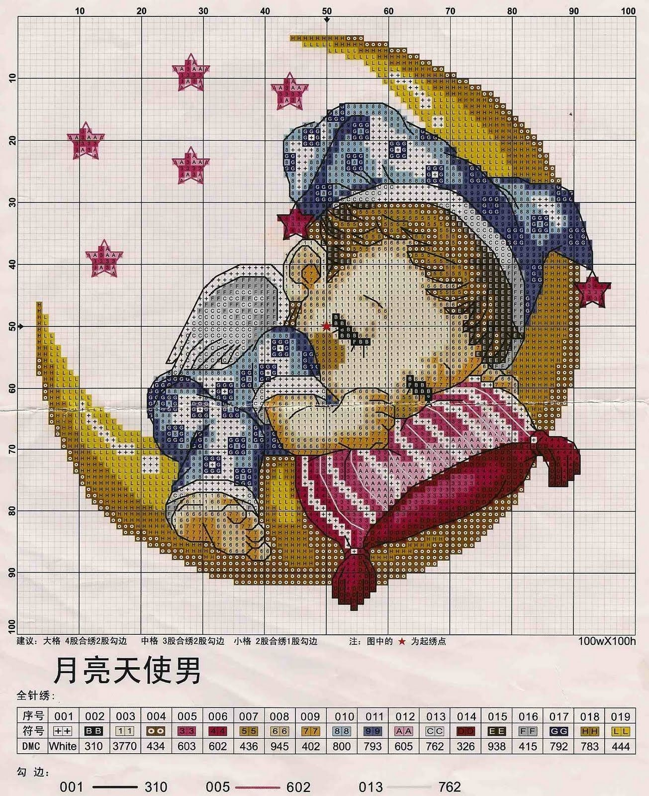 Pinleonora Binedell On Cross Stitch. | Baby Cross Stitch - Free Printable Cross Stitch Patterns Angels