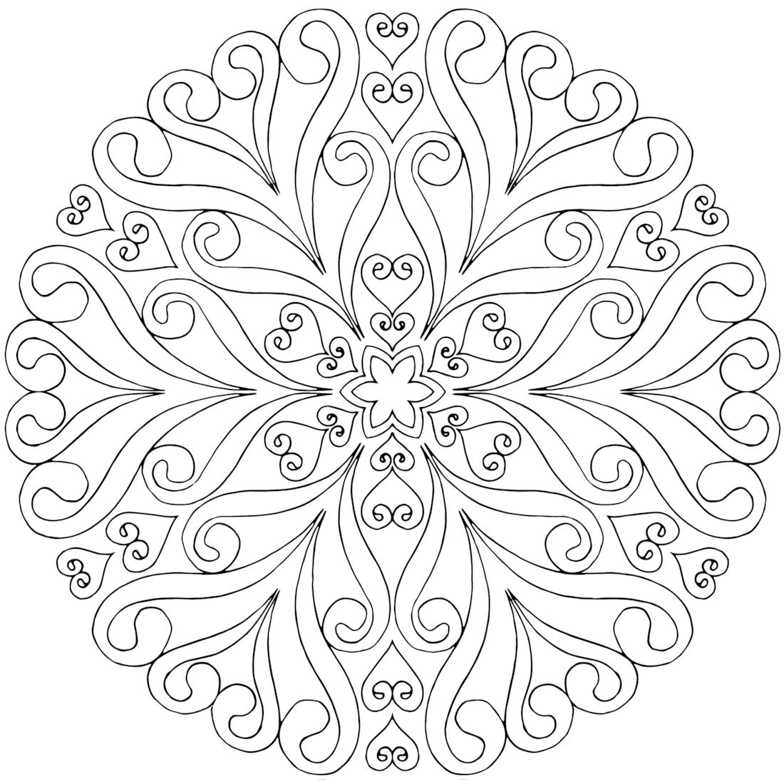 Pinlizet Barokas Koldan On Mandala | Mandala Coloring Pages - Free Printable Mandalas
