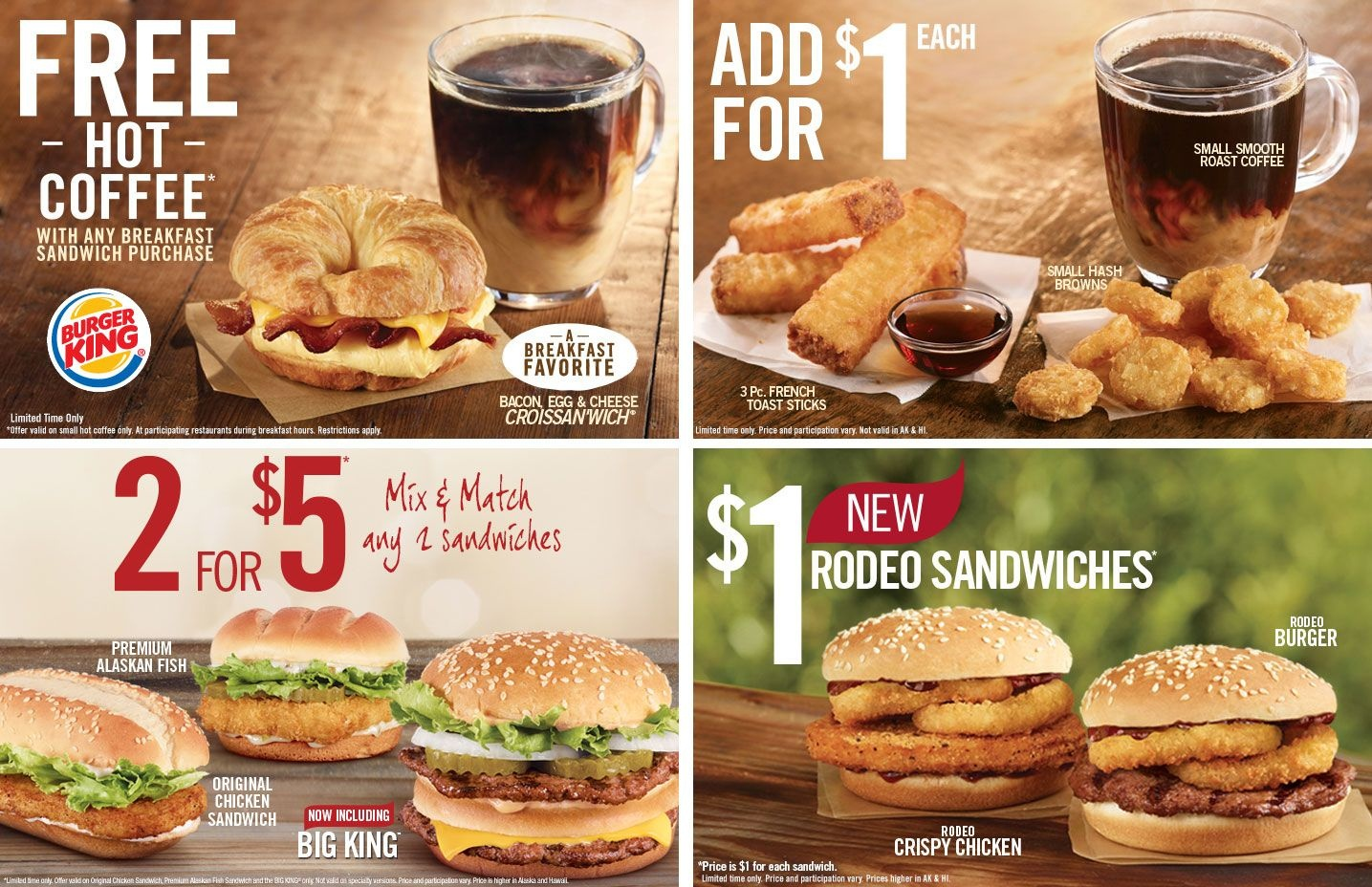 Pinned January 5Th: Free #coffee With #breakfast And More At Burger - Burger King Free Coupons Printable
