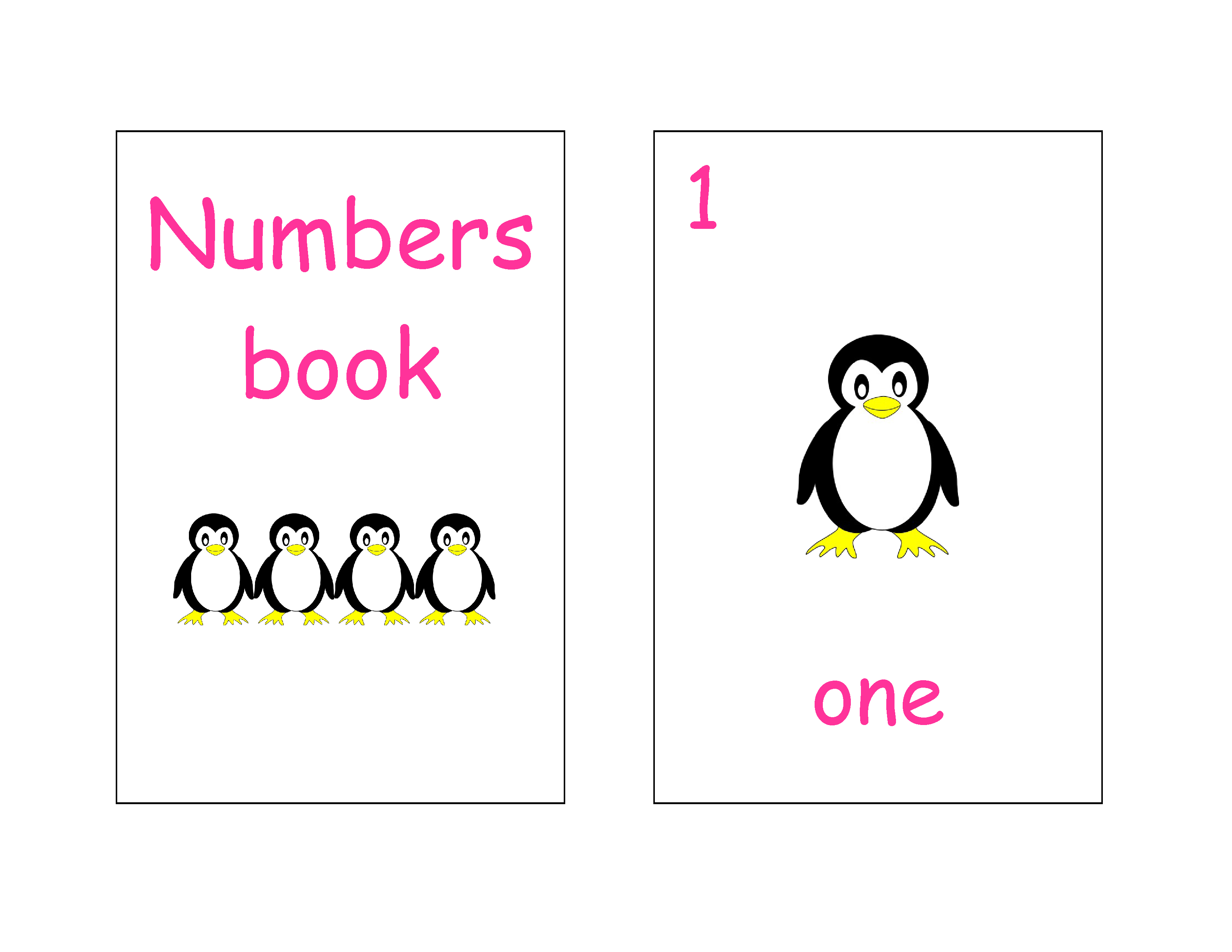 Pinplayingtots On Free Printable Mini Books / Worksheets | Quiet - Free Printable Penguin Books