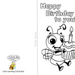 Pinreader Bee On Birthday Celebration   Bee Style | Free   Free Printable Birthday Cards