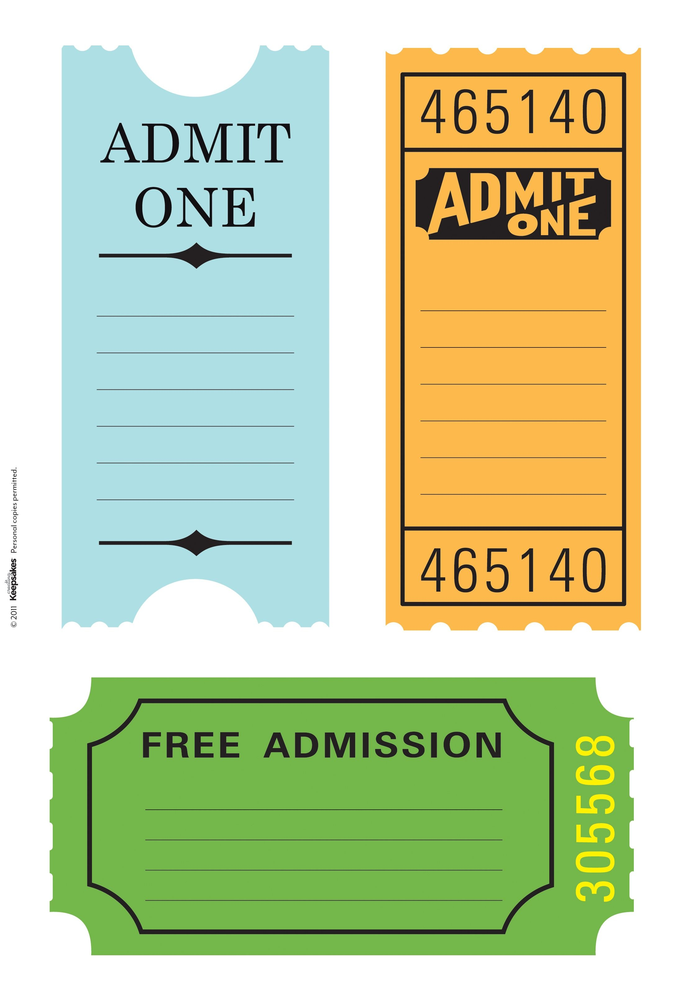 Pintanya Hayes On Fletchers Train Birthday Party   Scrapbook - Free Printable Admission Ticket Template