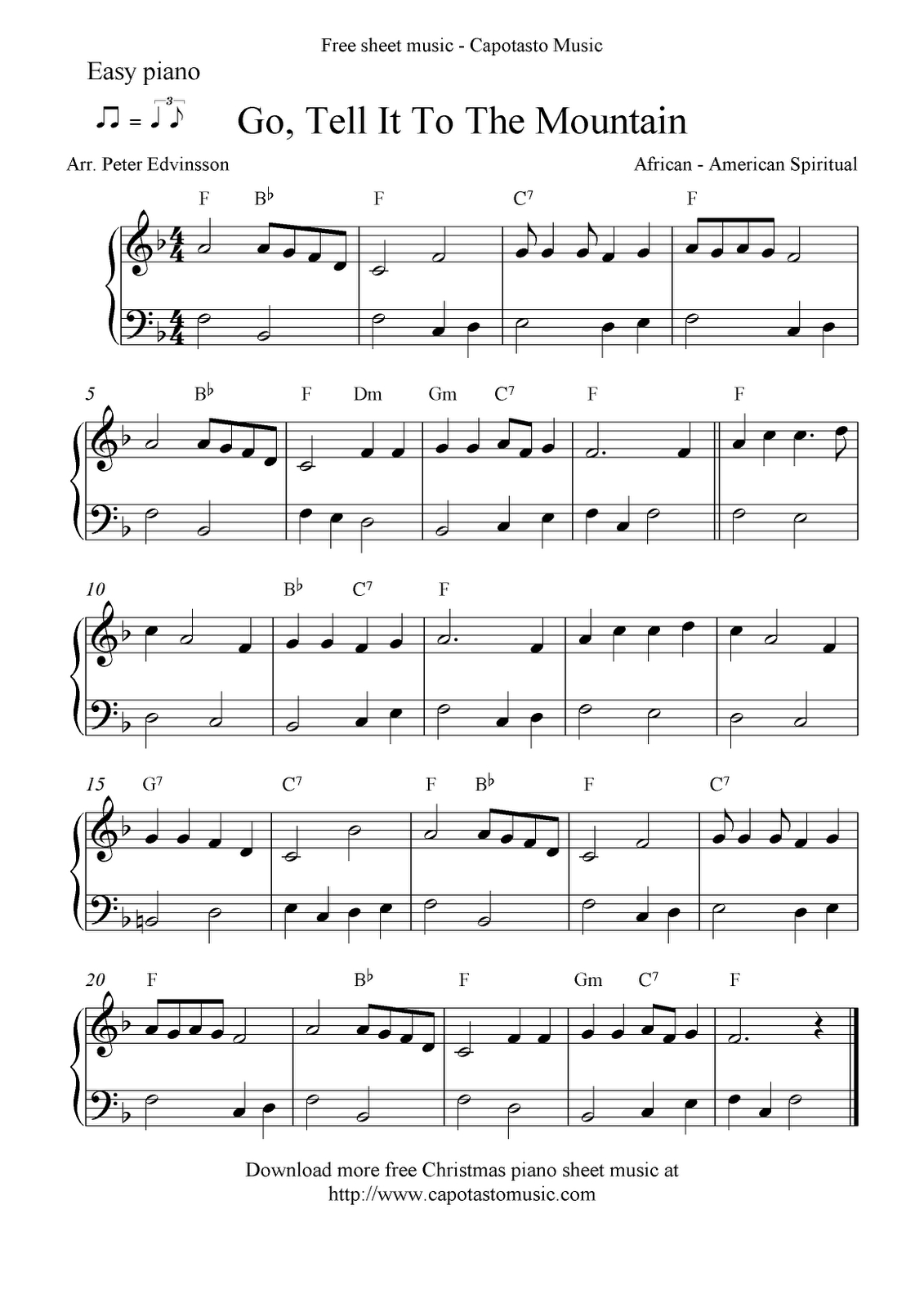 Pinterest - Free Christmas Sheet Music For Keyboard Printable