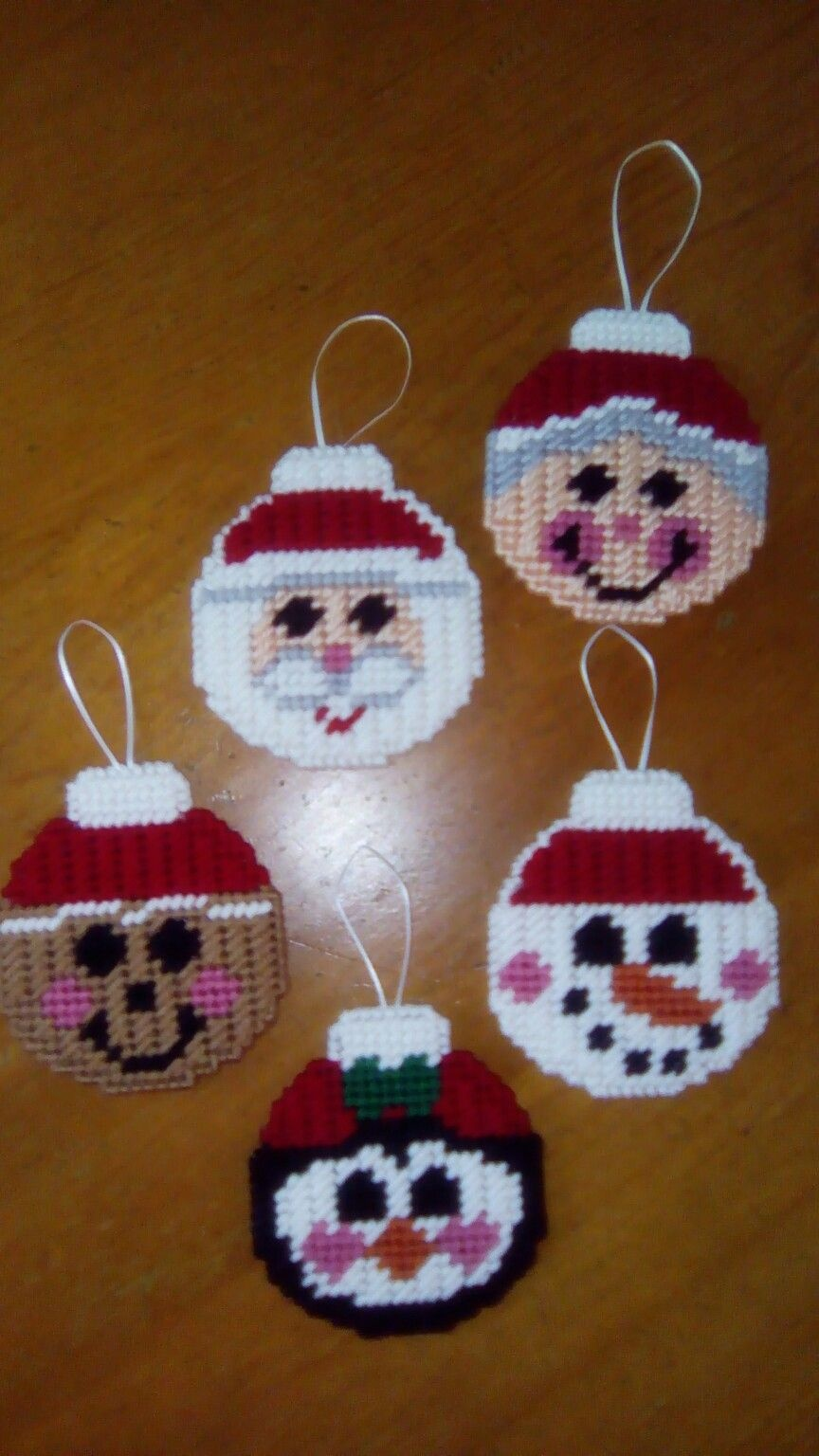 Pinterest - Free Printable Plastic Canvas Christmas Patterns