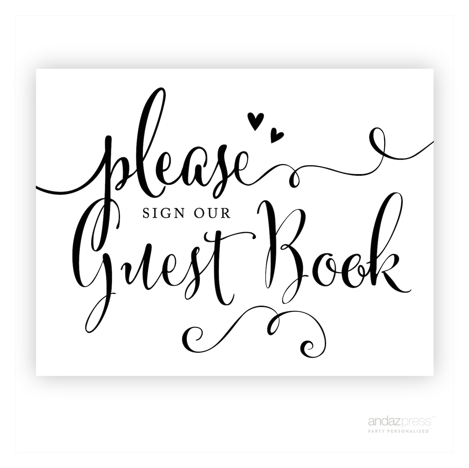 Please Sign Our Guestbook Free Printable (90+ Images In Collection - Please Sign Our Guestbook Free Printable