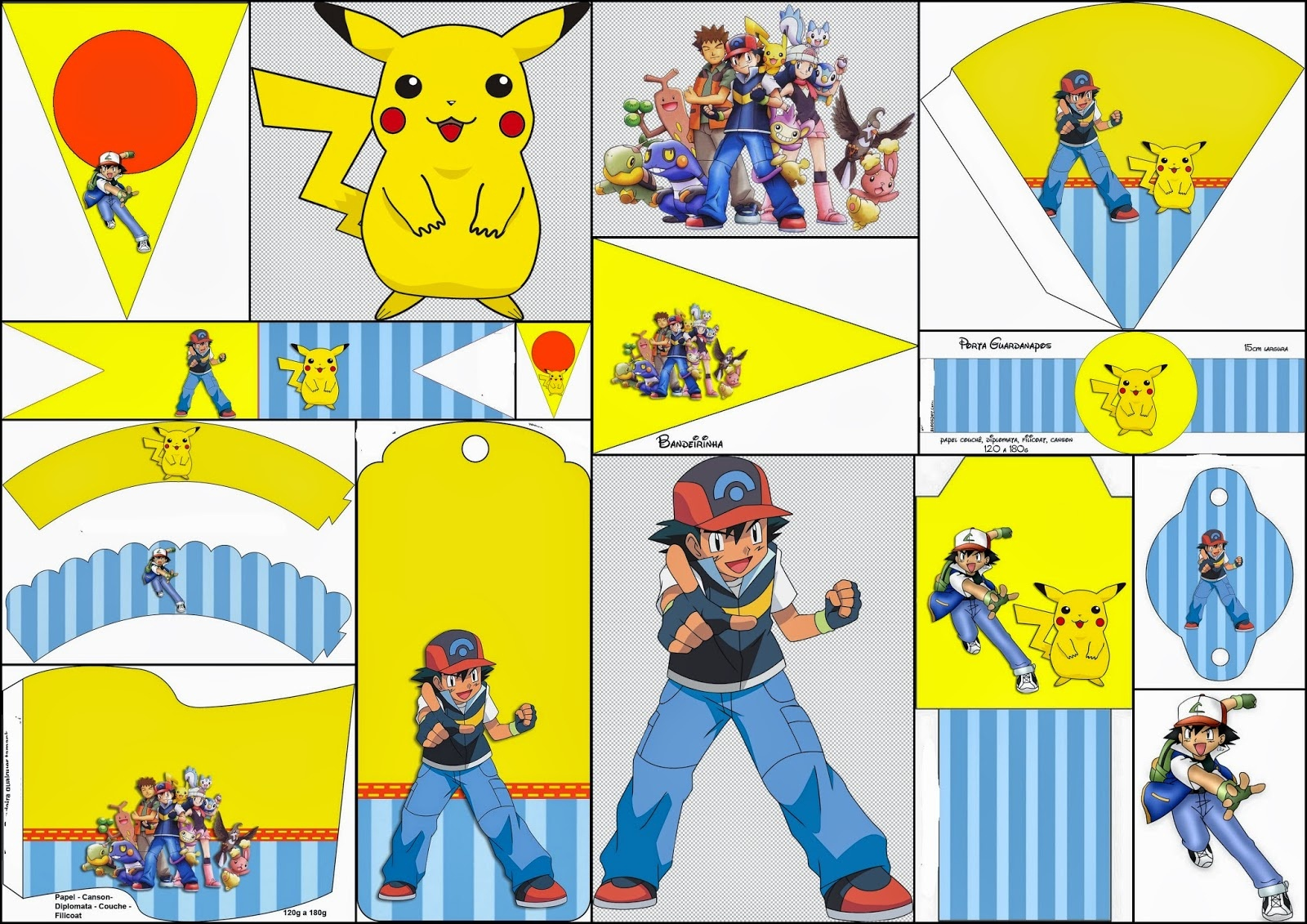 Pokemon: Free Party Printables And Images. - Oh My Fiesta! For Geeks - Free Printable Pokemon Pictures