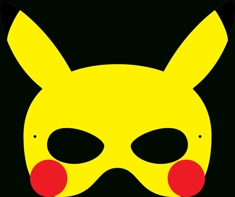 Pokemon Pikachu Mask … | Pokemon | Pokem… - Free Printable Pokemon Masks