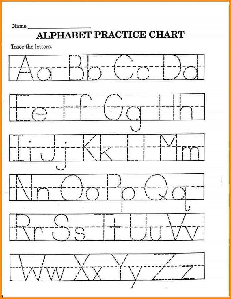 Pre K Math Worksheets Alphabet – Learning Printable | Preschool - Free Printable Pre K Activities
