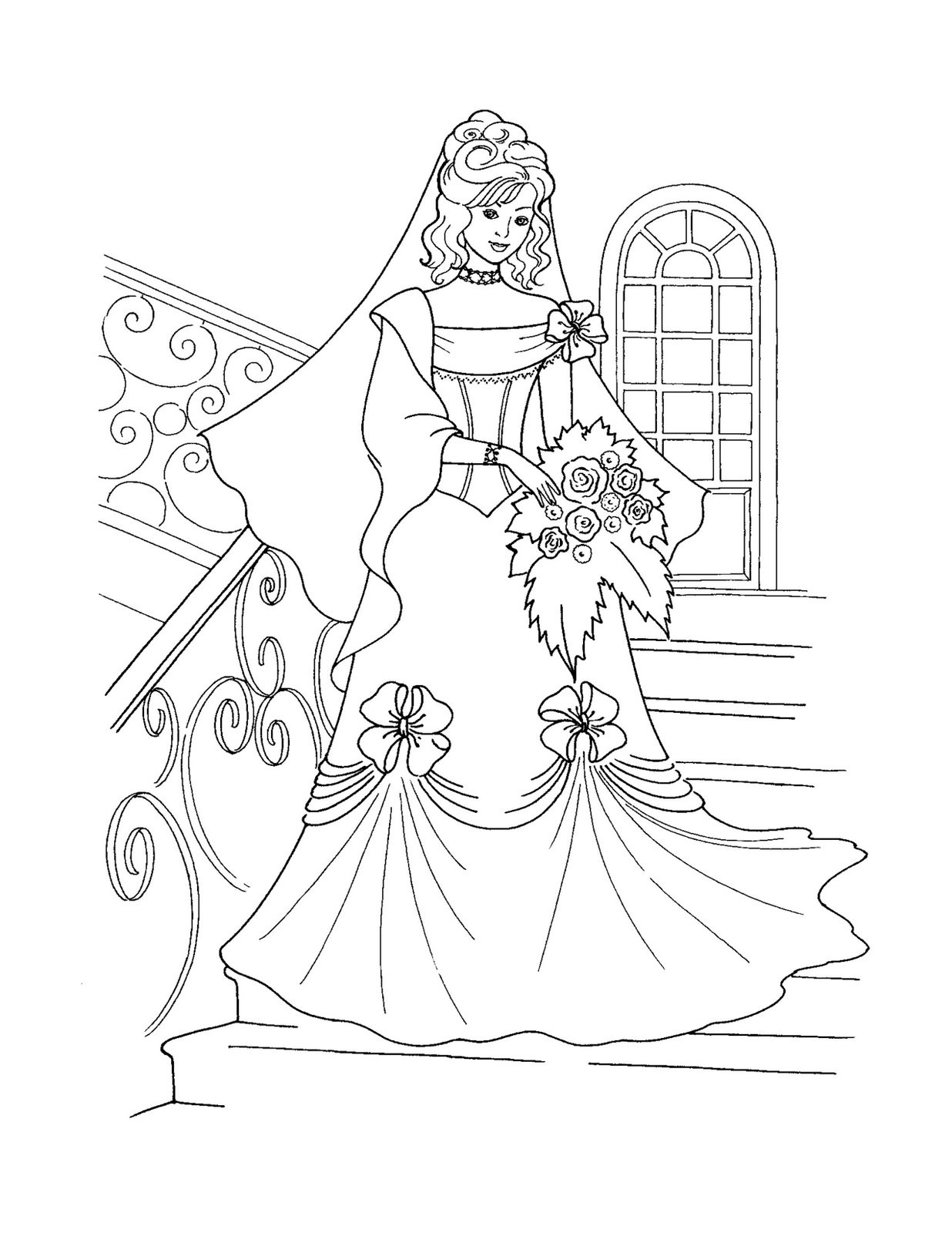 Princess Coloring Pages - Best Coloring Pages For Kids - Free Printable Princess Coloring Pages