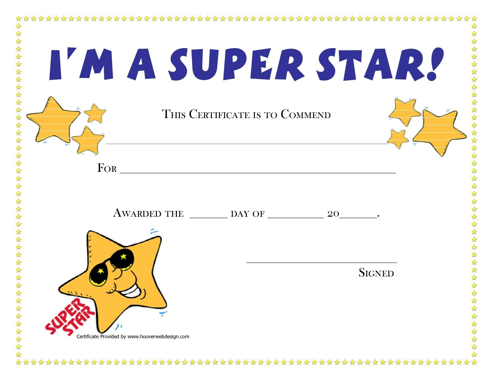 Printable Award Certificates For Students | Craft Ideas | Award - Free Printable Award Certificates For Elementary Students
