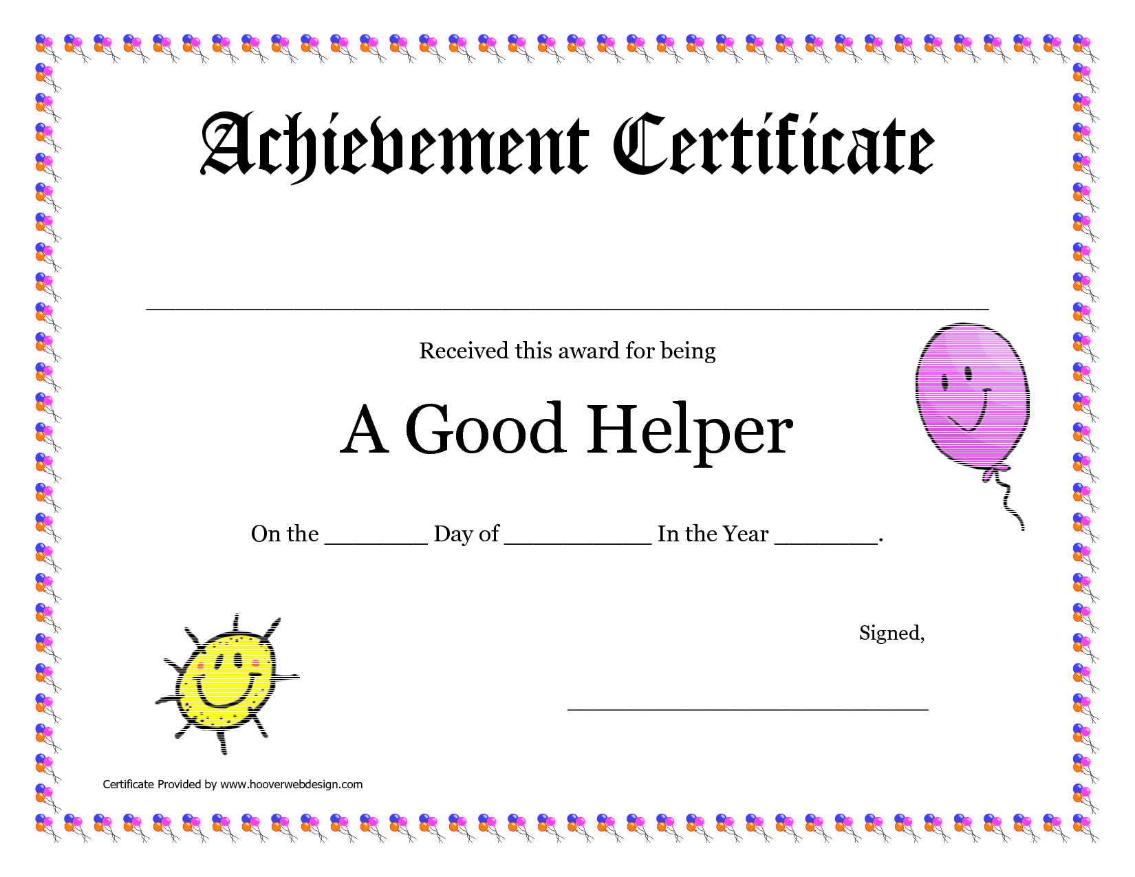 Printable Award Certificates For Teachers | Good Helper Printable - Free Printable Award Certificates For Elementary Students