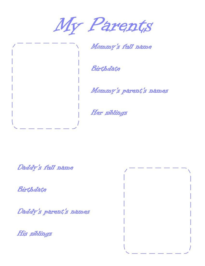 Printable Baby Book Pages | Baby Stuff - Free Printable Baby Memory Book