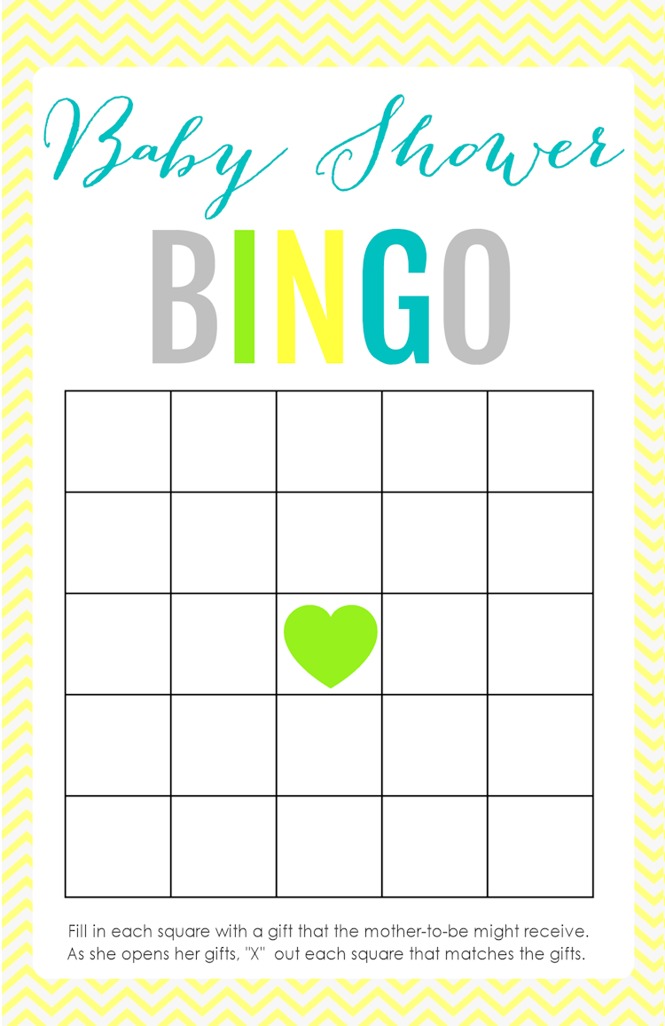 Printable Baby Shower Games | Shower Ideas | Free Baby Shower Games - Free Printable Baby Shower Bingo