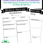 Printable Bible Study Guide | Jeff's | Bible Study Guide, Scripture - Bible Lessons For Adults Free Printable