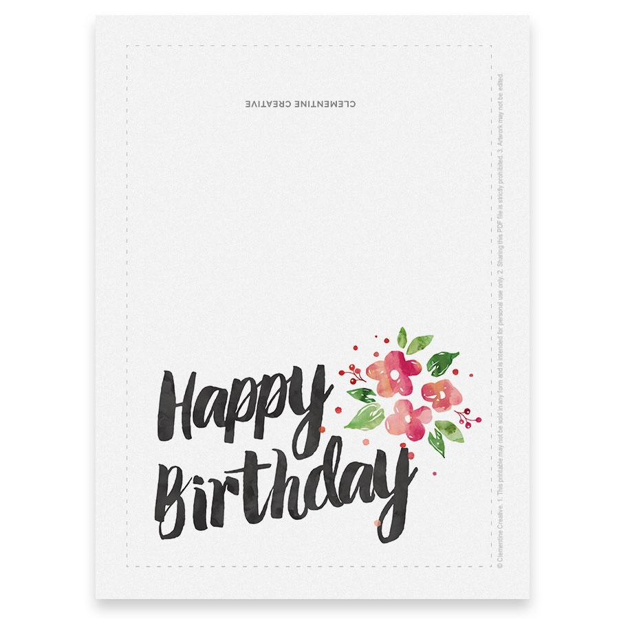 Printable Birthday Cards For Mom — Birthday Invitation Examples - Free Printable Birthday Cards For Wife