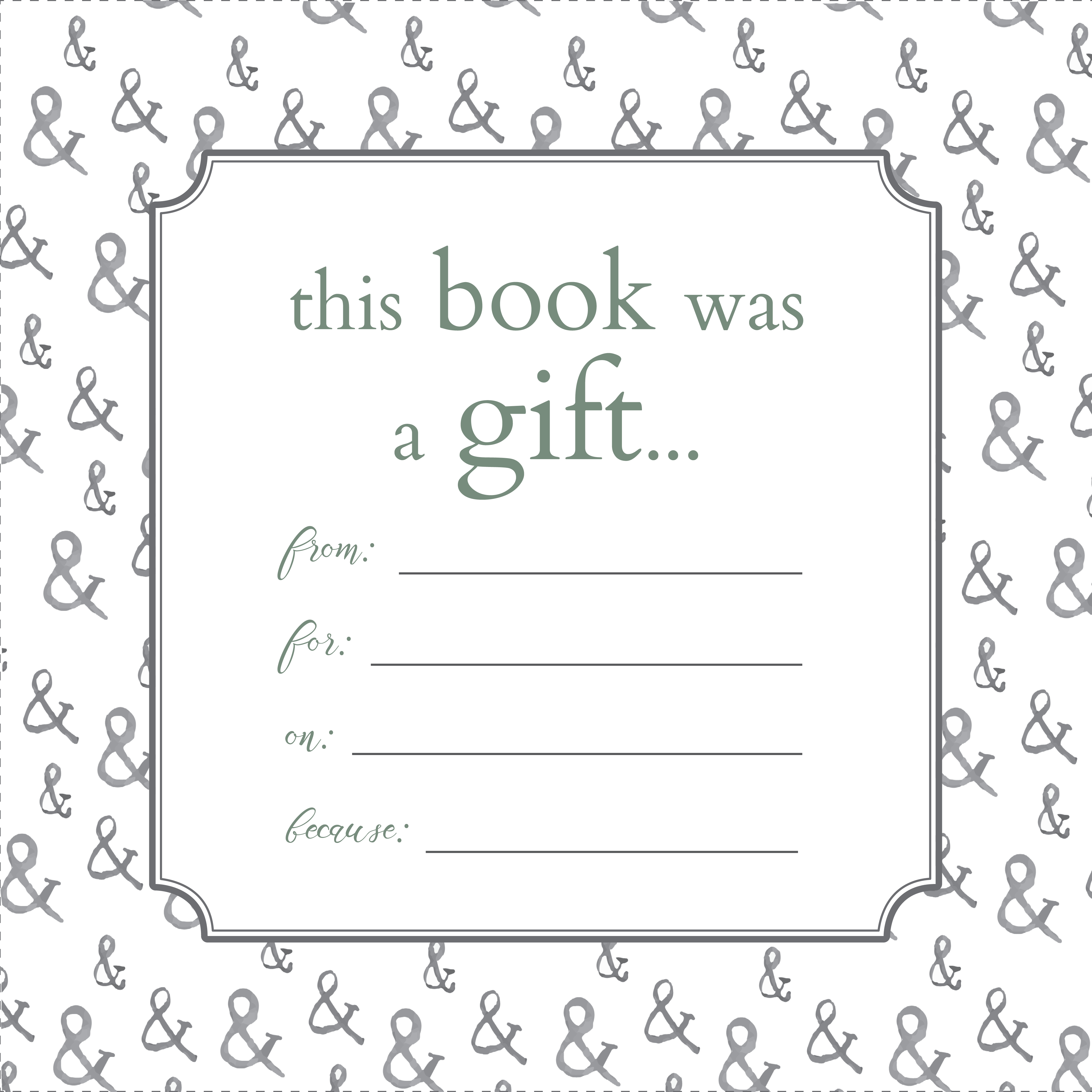 Printable Bookplates For Donated Books | Labels For Book | Books - Free Printable Christmas Bookplates