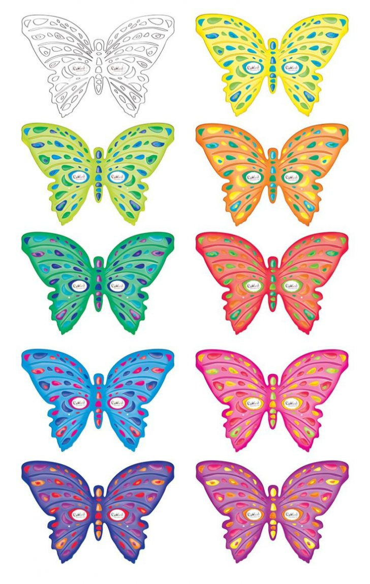 Free Printable Butterfly Cutouts