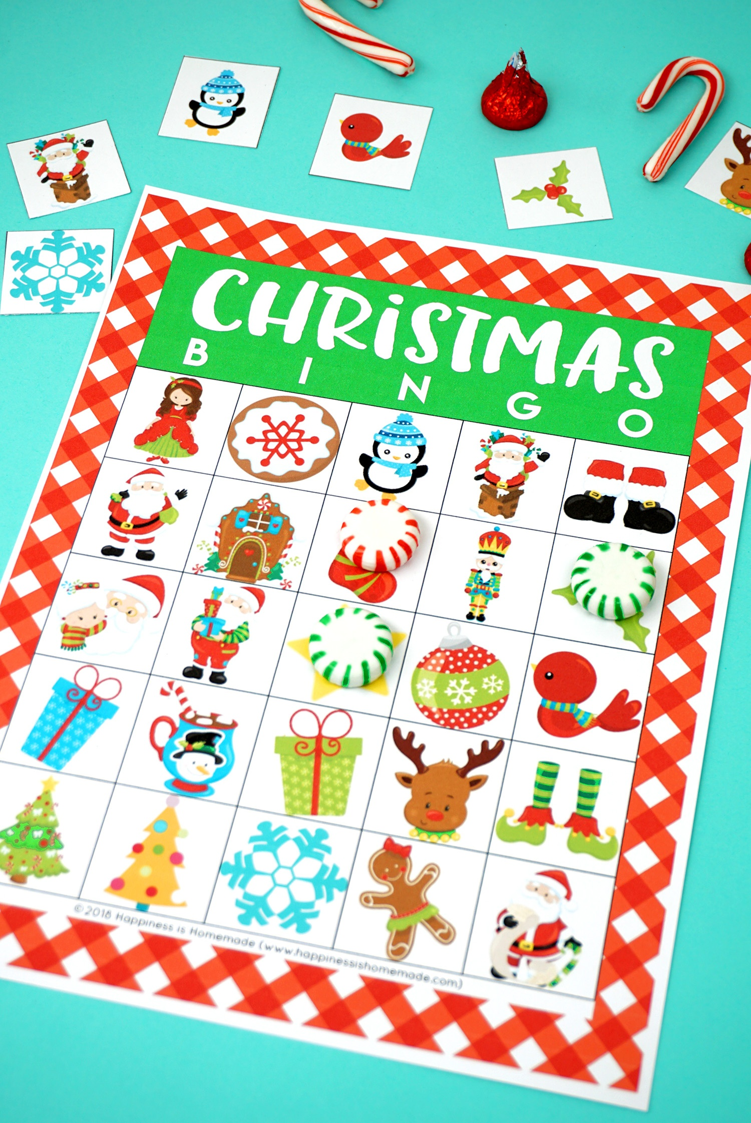 free printable christmas bingo cards  free printable