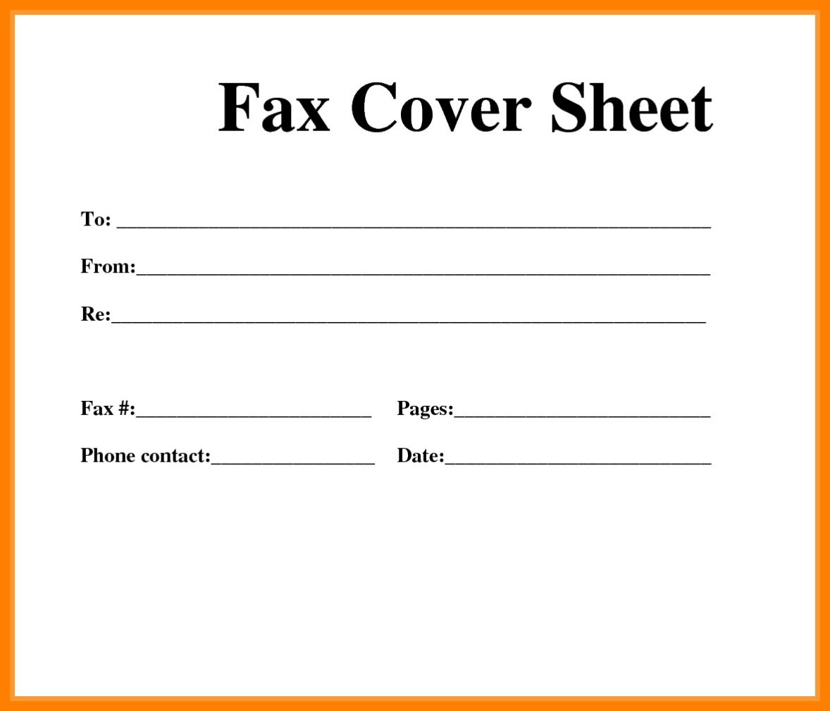 Printable Cover Sheet | Ellipsis - Free Printable Fax Cover Sheet
