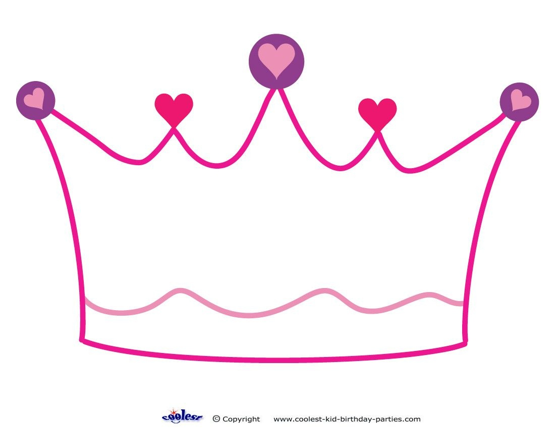Printable Crown Decoration - Coolest Free Printables | Princess - Free Printable Crown