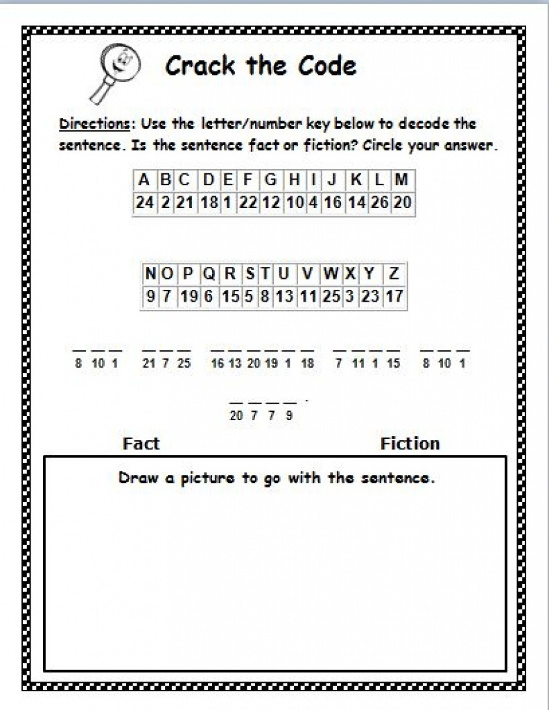 Printable Cryptogram Puzzles (77+ Images In Collection) Page 1 - Free Printable Cryptograms