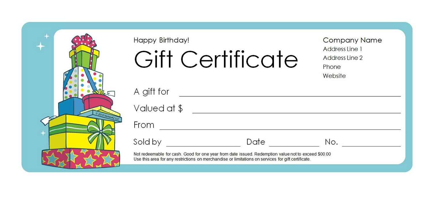 Printable Custom Gift Certificates - Tutlin.psstech.co - Free Printable Gift Coupons