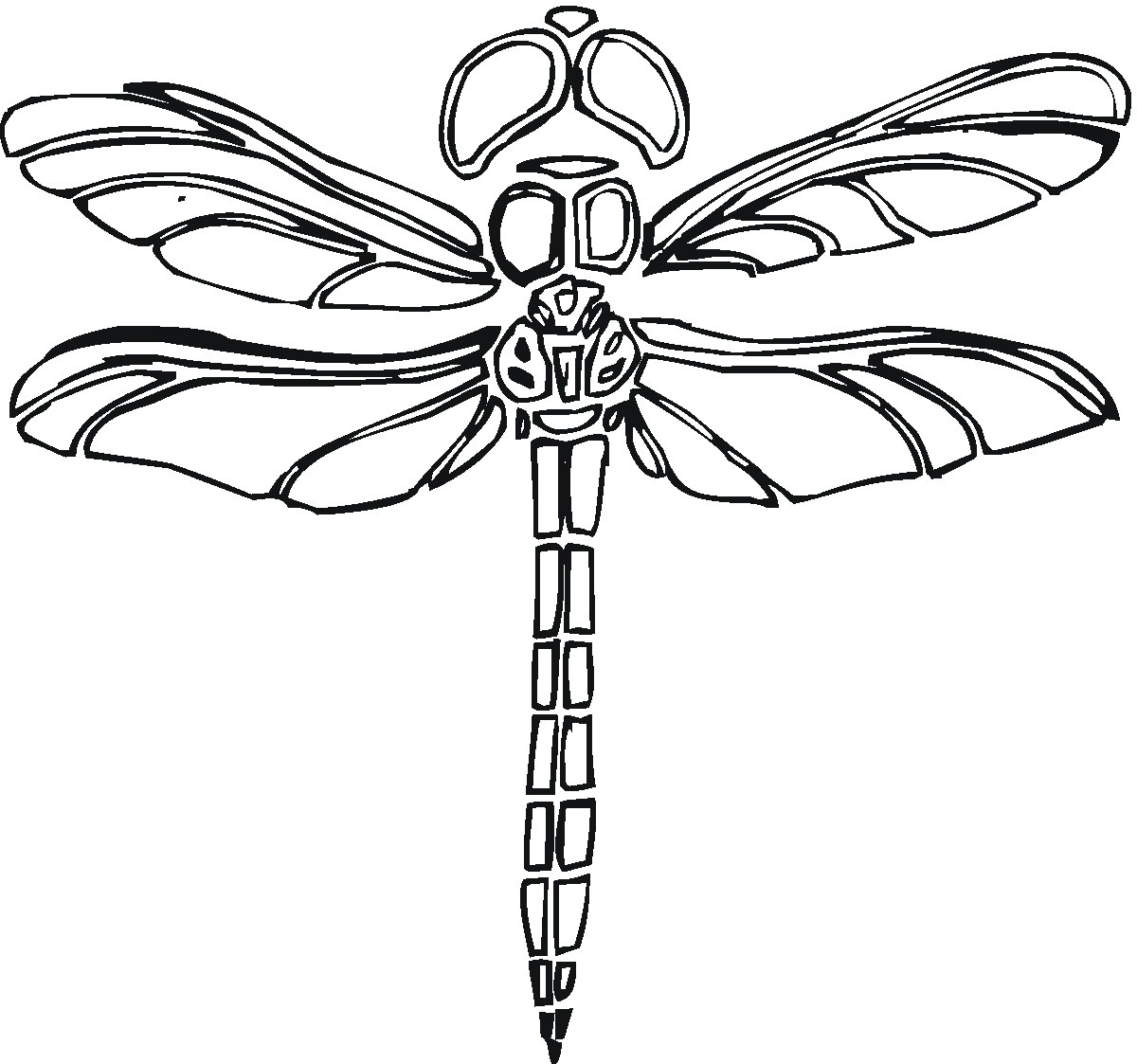 Printable Dragonfly Coloring Pages | Coloringme - Free Printable Pictures Of Dragonflies