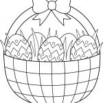 Printable Easter Coloring Pages Free Easter Coloring Pages Printable   Free Printable Coloring Pages Easter Basket