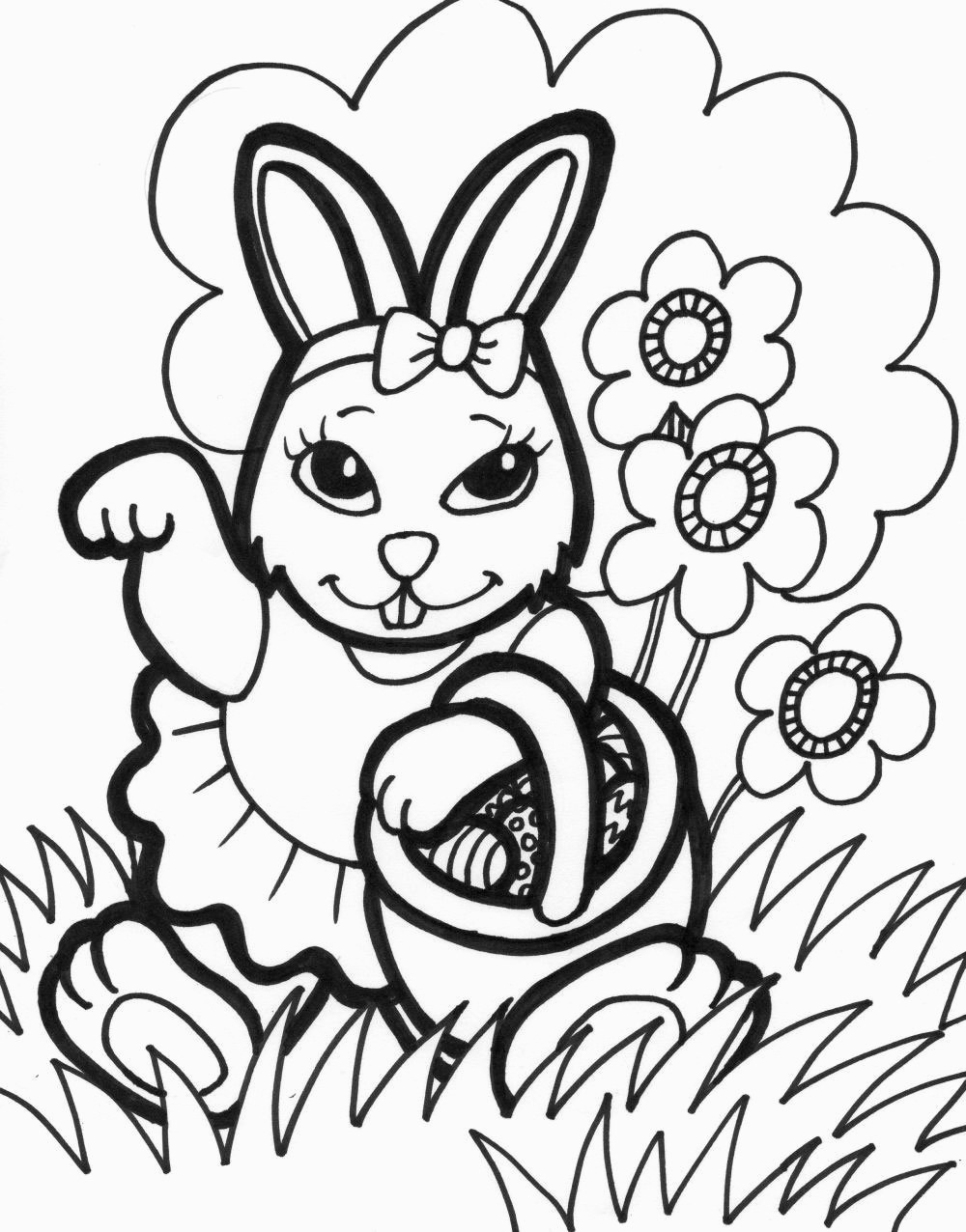 Printable Easter Coloring Pages | Printable Coloring Pages - Free Printable Easter Coloring Pages