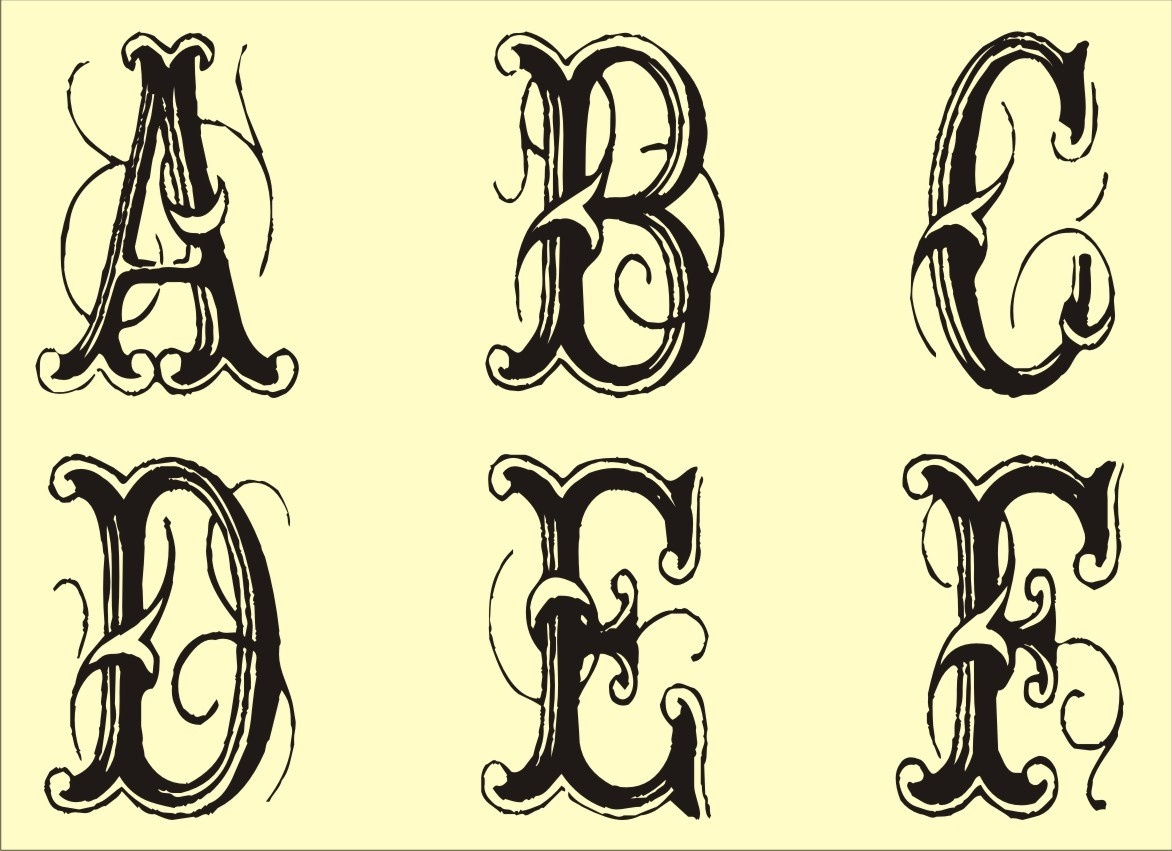Printable Font Stencils (80+ Images In Collection) Page 1 - Free Printable Fonts Stencils