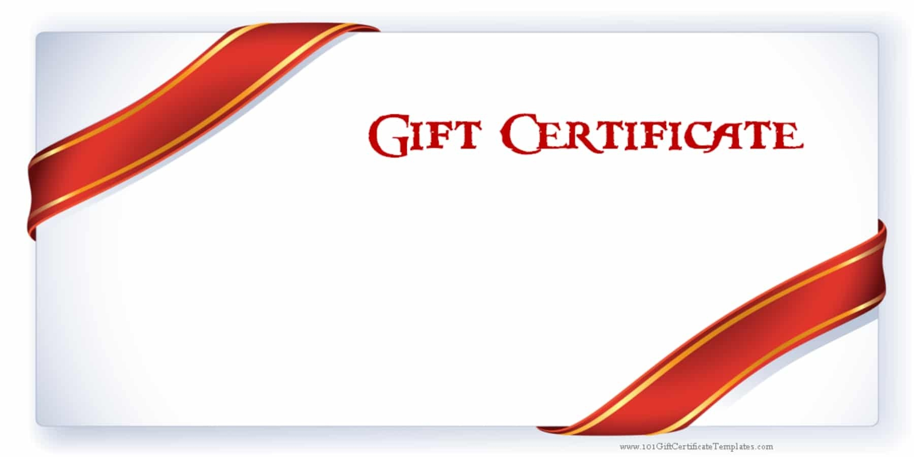 Printable Gift Certificate Templates - Free Printable Gift Cards